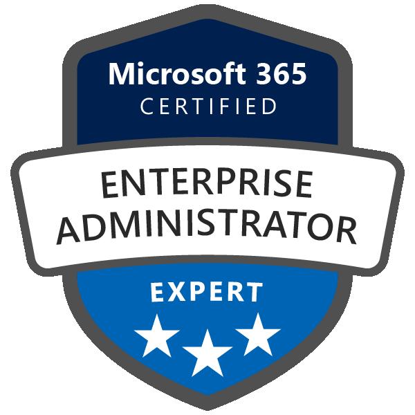 Microsoft 365 Certified: Enterprise Administrator Expert